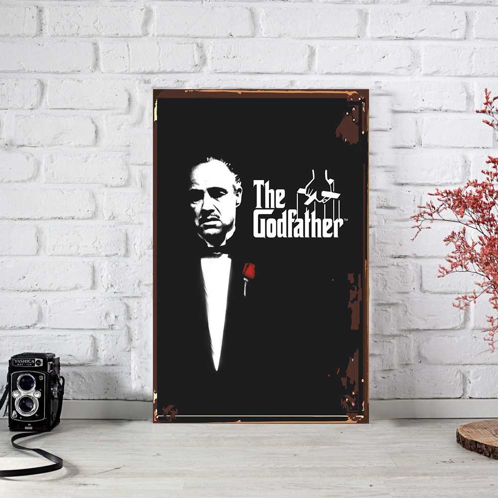 The Godfather Ahşap Poster (PST741)