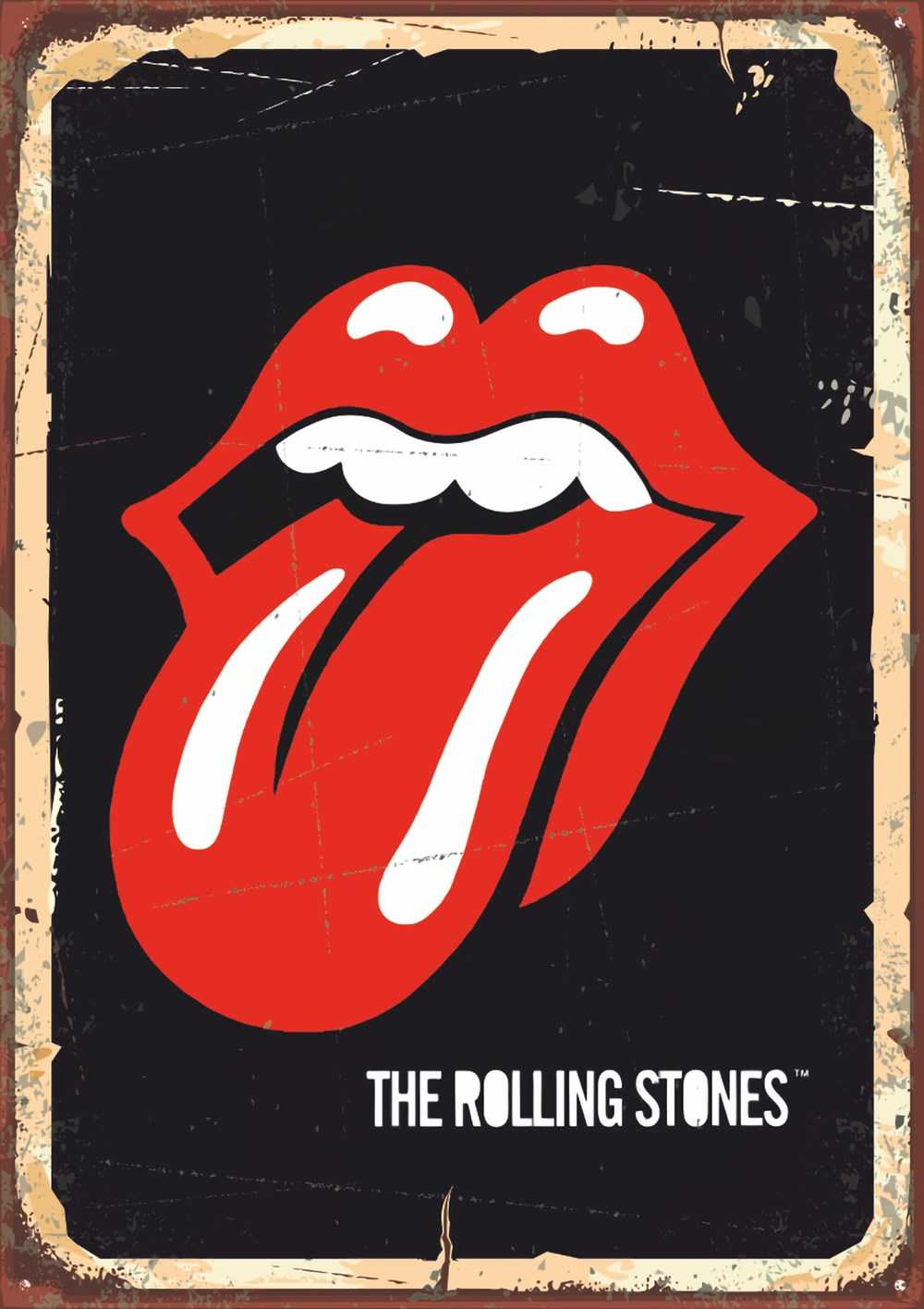 The Rolling Stones Ahşap Poster (PST745)
