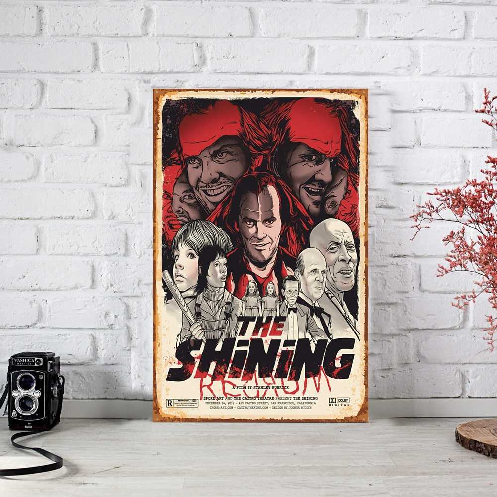 The Shining Cinnet Ahşap Poster (PST751)